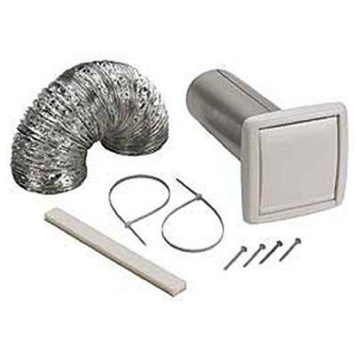 nutone wvk2a flexible wall ducting kit for ventilation fans 4inch
